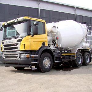 Автобетоносмеситель Scania Off-Road с установками объемом 8м3