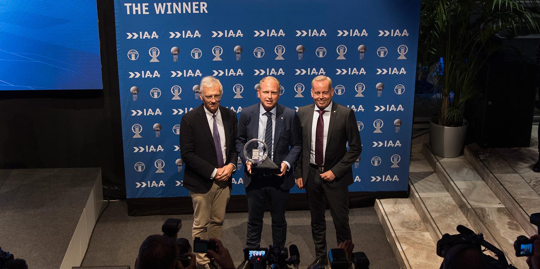 Scania серии S признана Международным грузовым автомобилем 2017 года