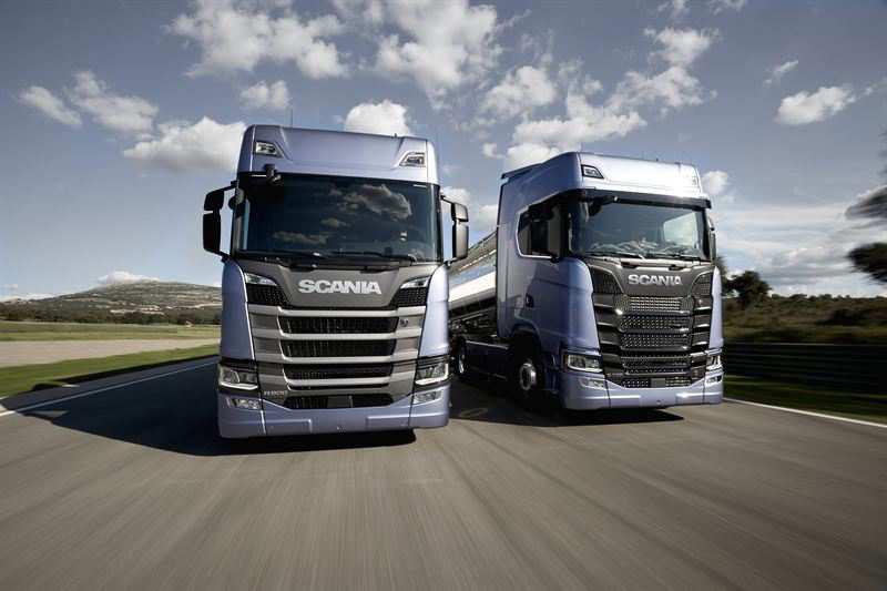 Скания представляет новое поколение грузовиков!