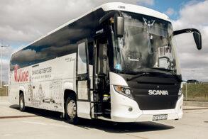 Презентация новых автобусов Скания
